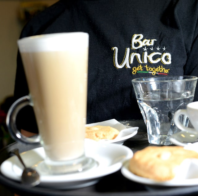 traditional italian coffee shop