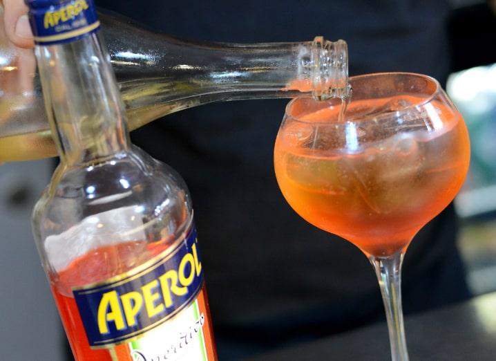 italian restaurant beverage