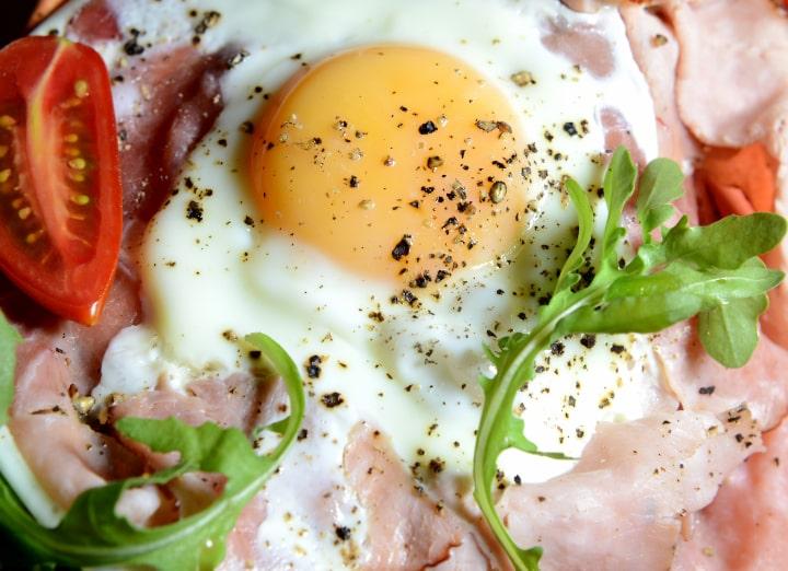 traditional italian breakfast